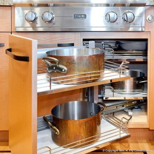 Maximizing Accessible Storage. PureBond hardwood plywood. Maximize your kitchen storage by adding extra shelves in cabinets