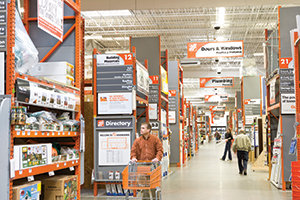 Overview. Home Depot aisle