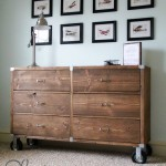 Shanty To Chic Rolling Dresser