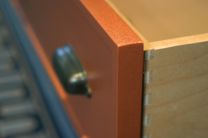 Drawer sides made by PureBond plywood